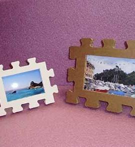 portafoto in cartone